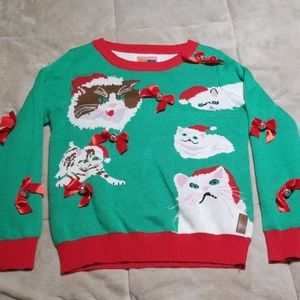 UGLY Sweater - meow